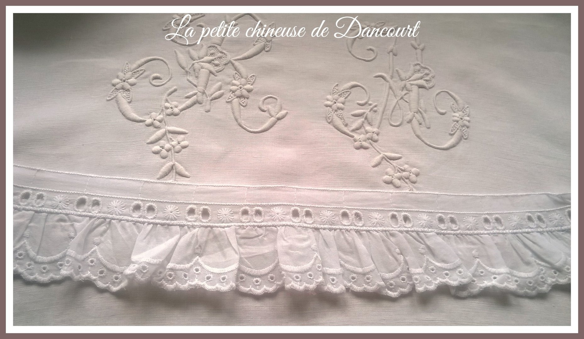 Broderie Anglaise Sophie