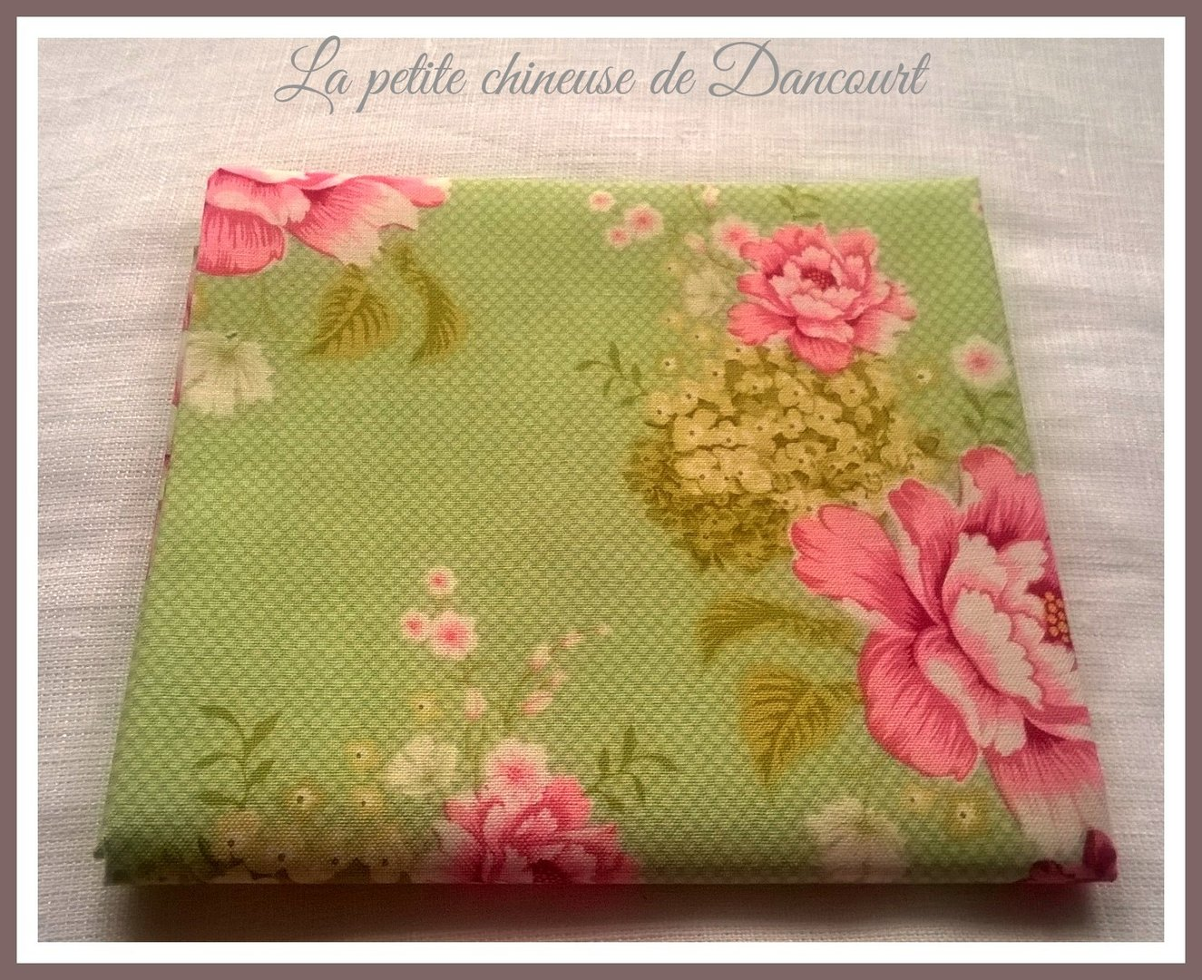 Coupon de tissus Tilda flowerpatch green