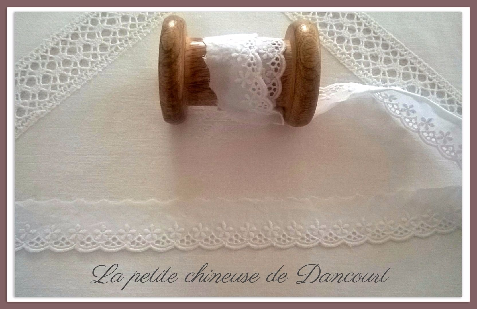 Broderie Anglaise Lucie blanche