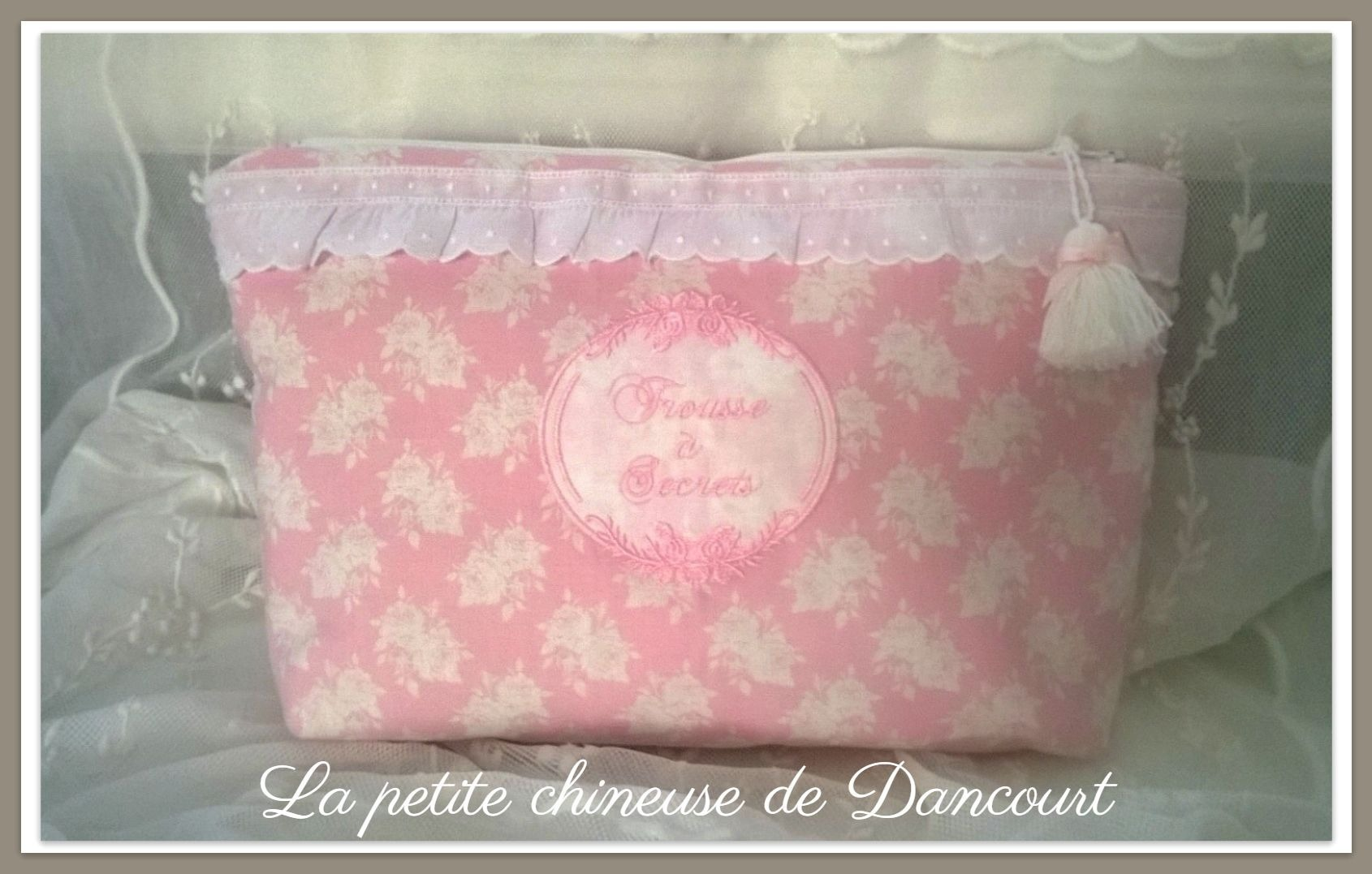 Trousse à Secrets rose