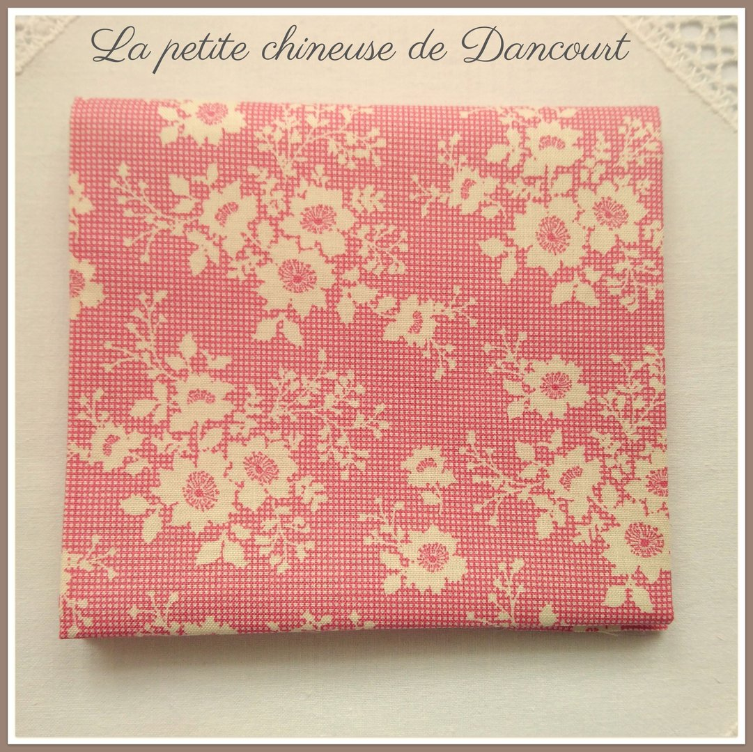Coupon de tissus Tilda Libby pink