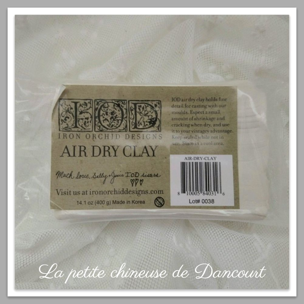 Air Dry Clay IOD