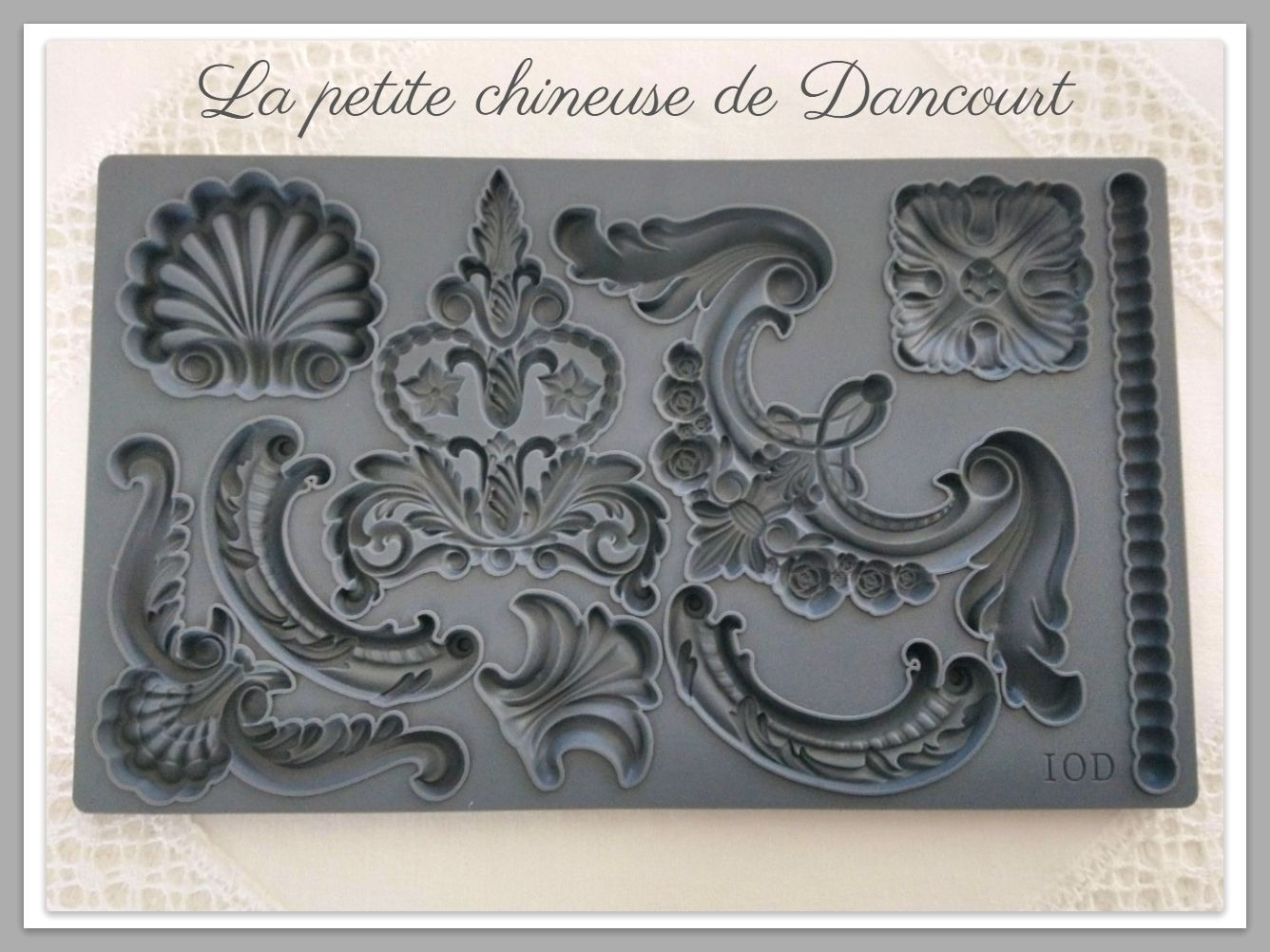 Moule Iron Orchid Designs (IOD) Classic elements