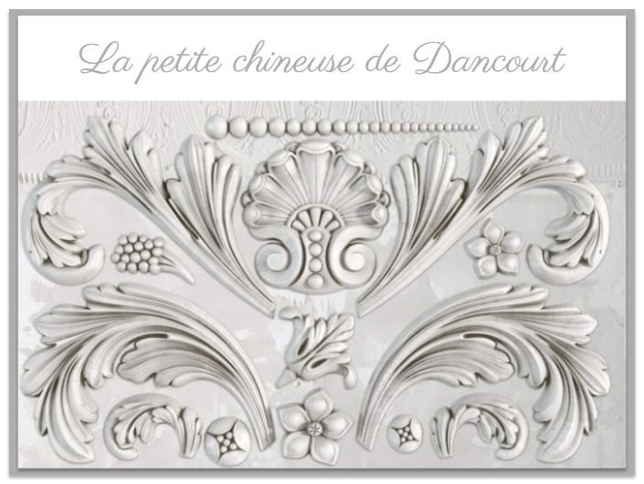 Moule Iron Orchid Designs (IOD) Acanthus Scroll